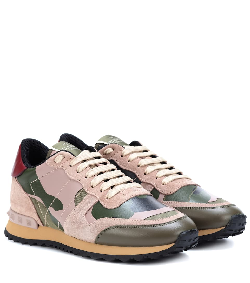 Rockrunner Camouflage Sneakers in Green