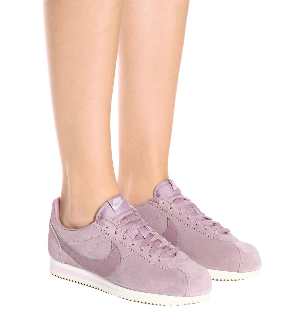 Nicekicks Discount Perfect Nike Nike Classic Cortez suede sneakers Elemental Rose For Cheap Cheap Online eeszVTR
