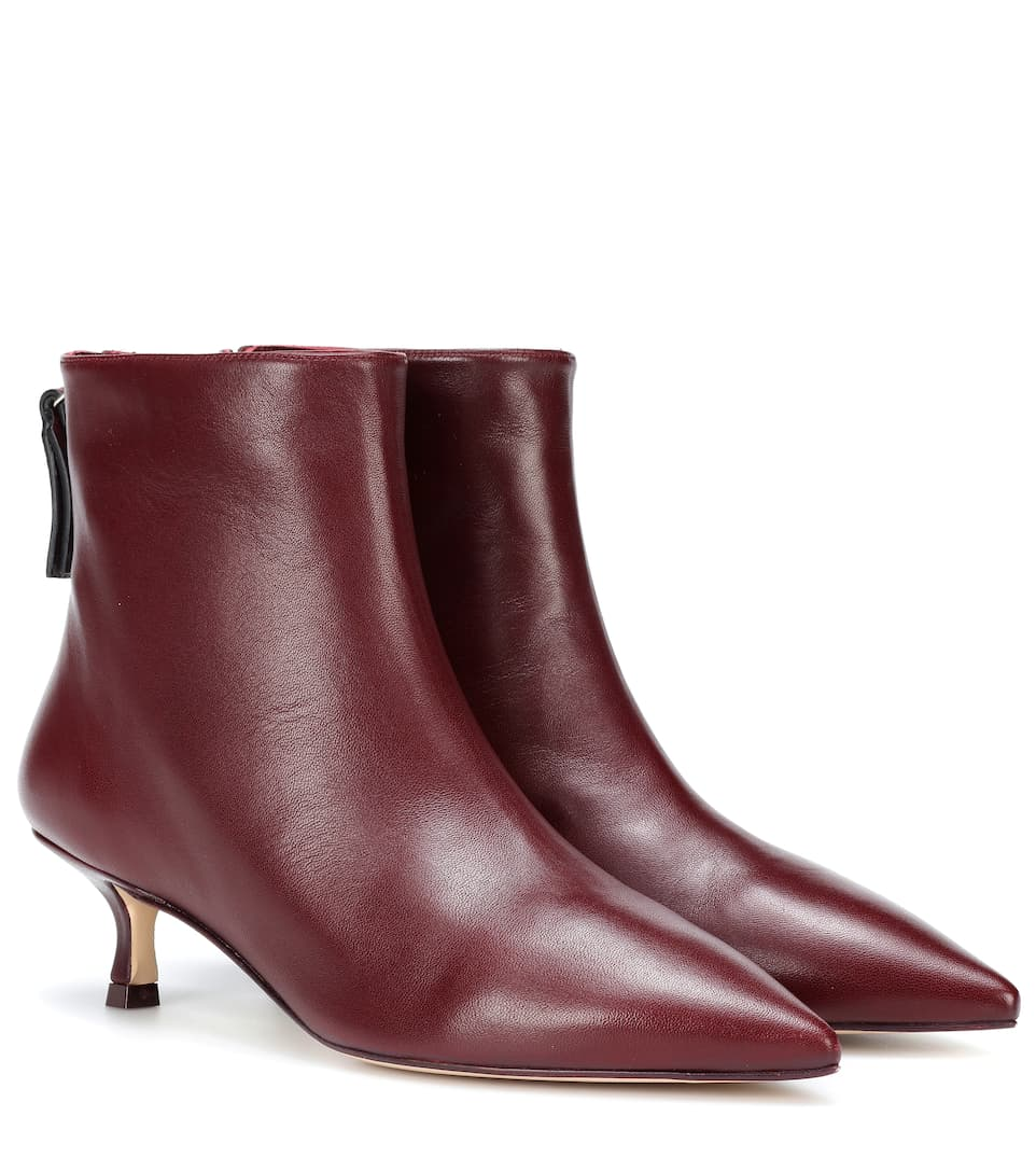 Juniper 45 Leather Ankle Boots by Stuart Weitzman