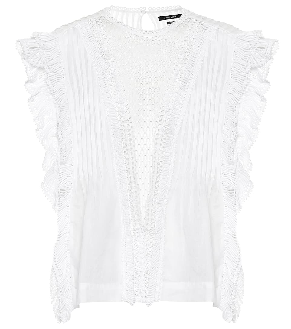 Isabel Marant Accessories Roya ramie top
