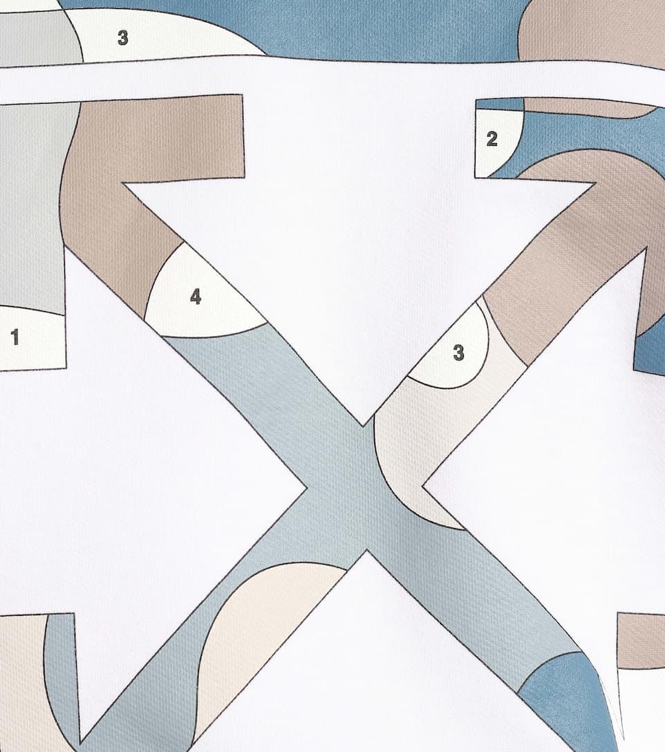 로고 코튼 저지 스웨트셔츠 | Off-White - Mytheresa