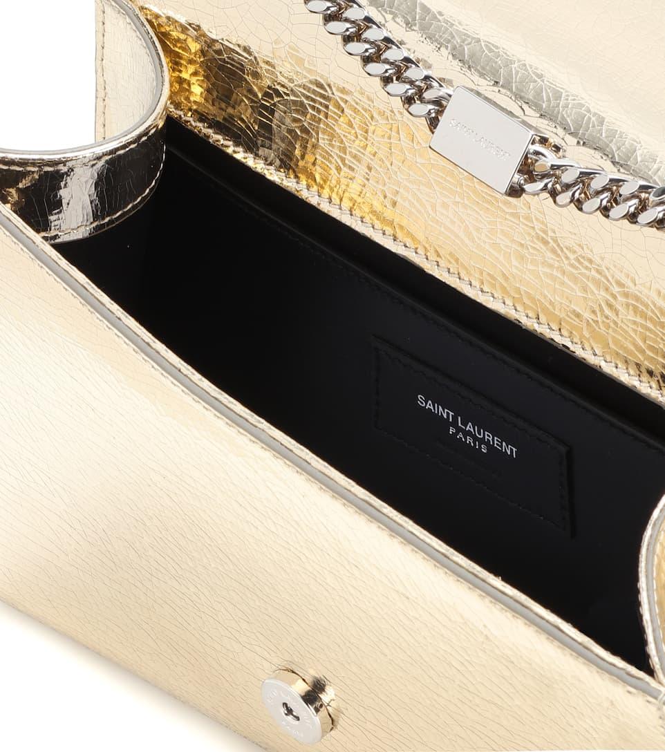 Saint Laurent Schultertasche Kate Small aus Metallic-Leder Aus Deutschland Verkauf Günstiger Preis Günstig Kaufen Manchester Ebay Online YReMjw1
