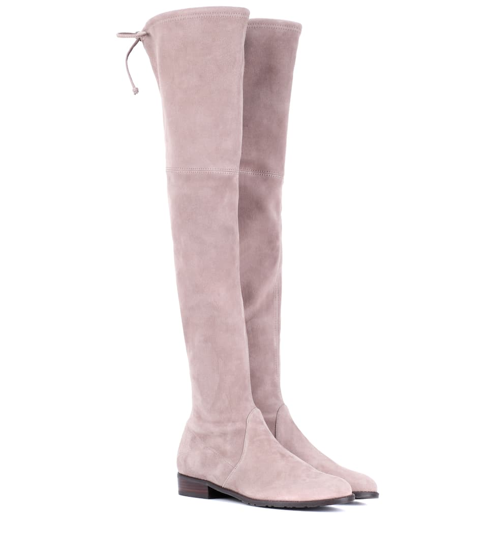 LOWLAND SKIMMER SUEDE OVER-THE-KNEE BOOTS
