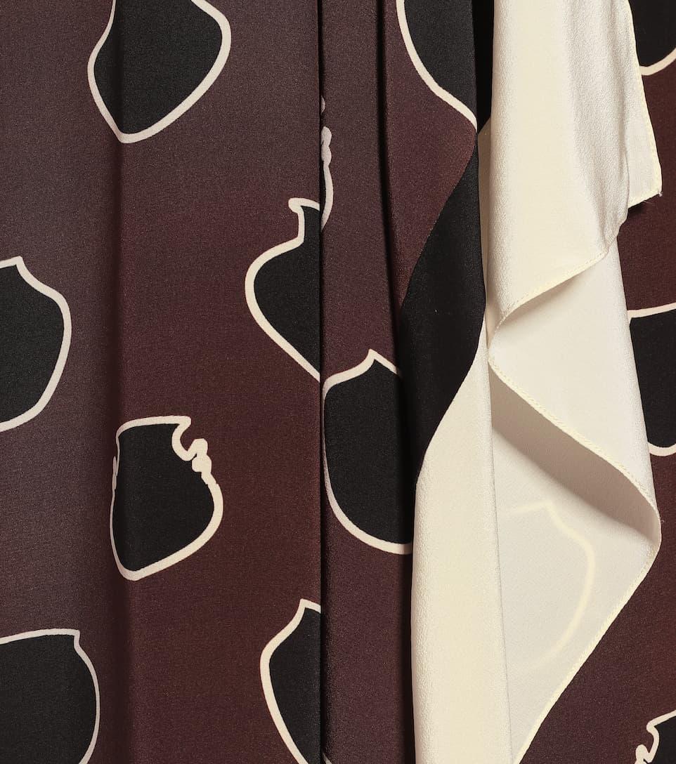 Johanna Ortiz - Unexpected Territory silk midi dress
