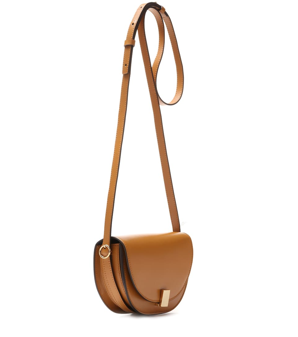 Sac cross-body en cuir Half Moon Box jdAVTPbC