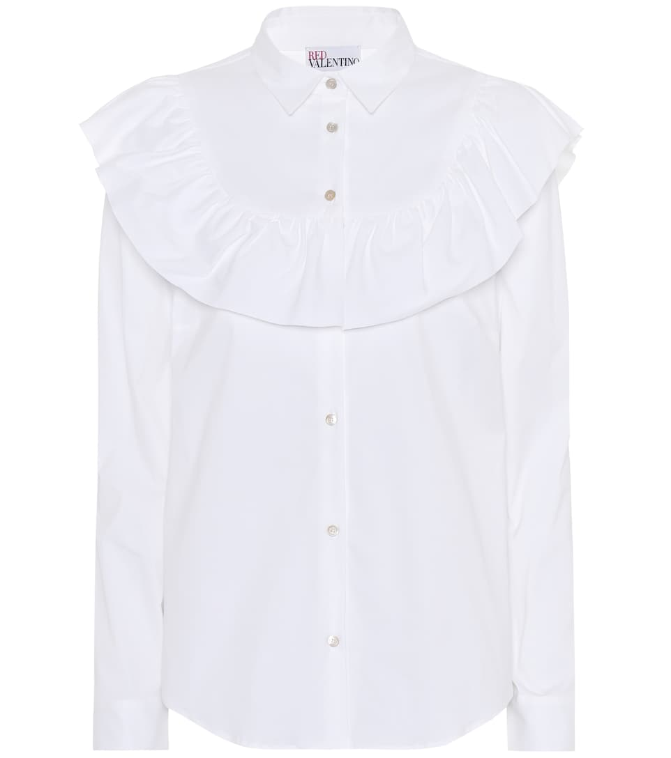 Redvalentino Blouse With A Cotton-share