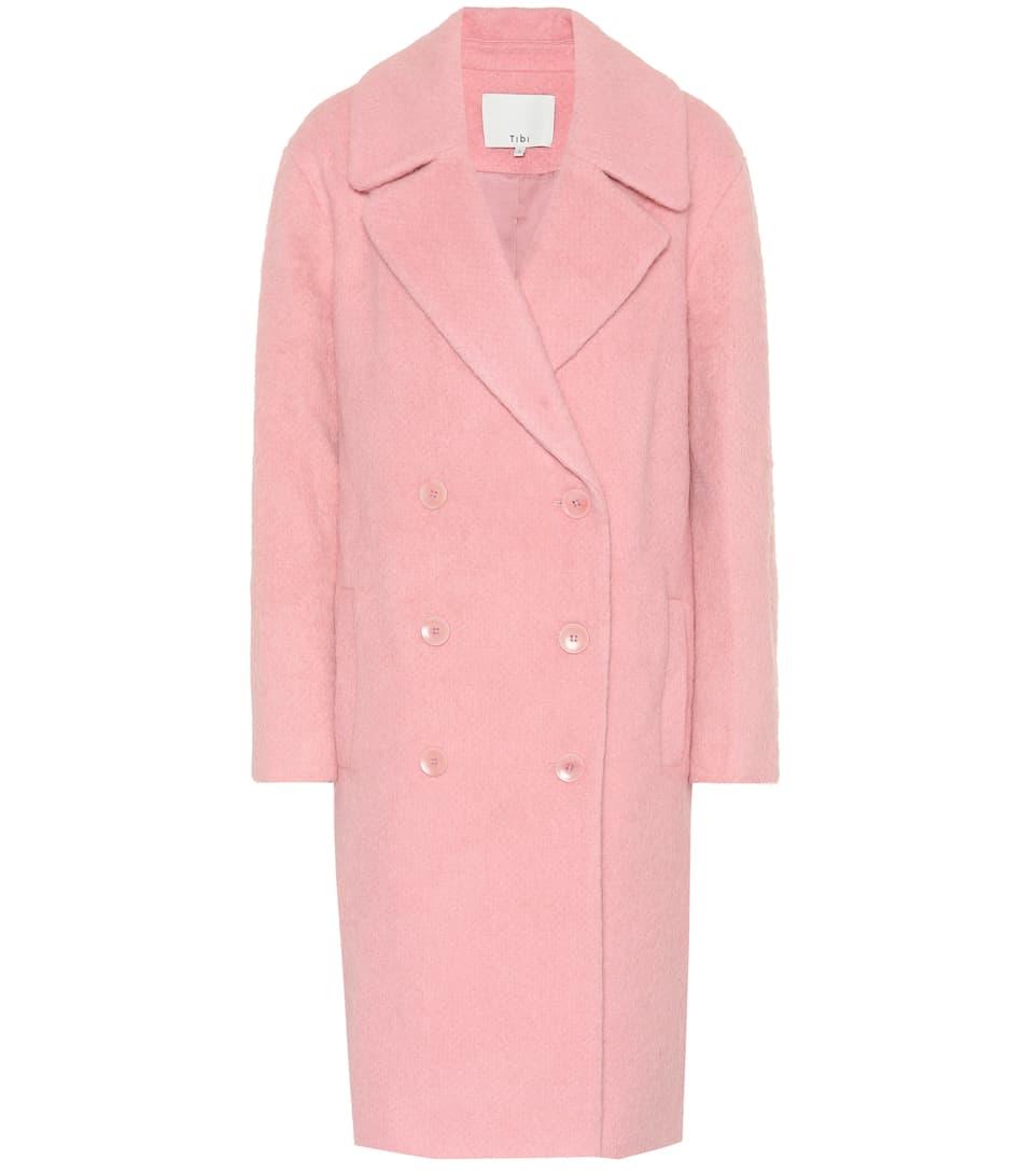 62c155a59795 Tibi - Mohair-blend coat