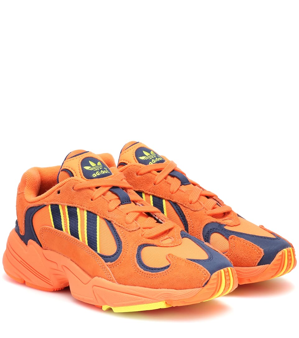 differently ceabb badd4 Yung-1 Suede Sneakers - Adidas Originals   mytheresa
