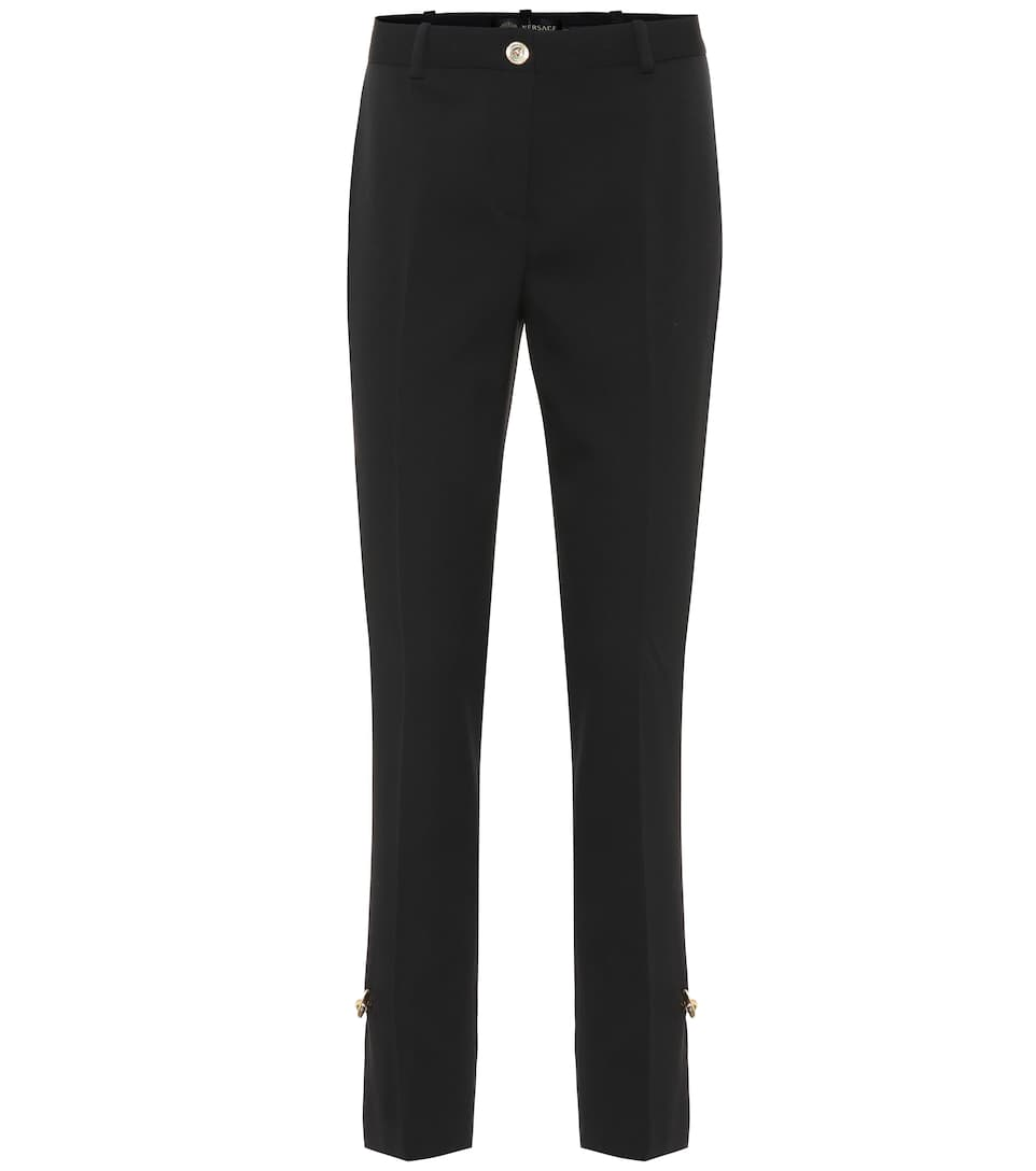 huge selection of bb51c ace2f Pantaloni in lana stretch