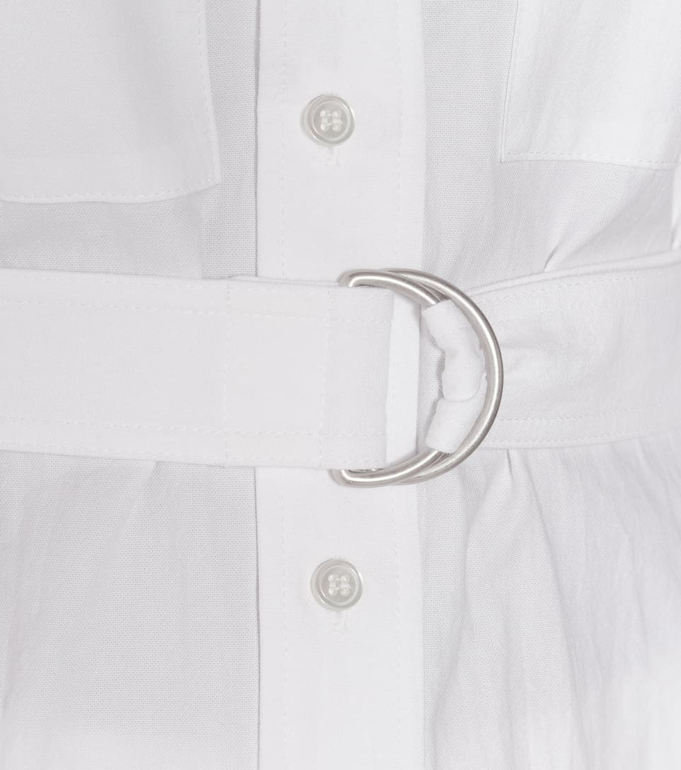 JW Anderson - Belted cotton shirt
