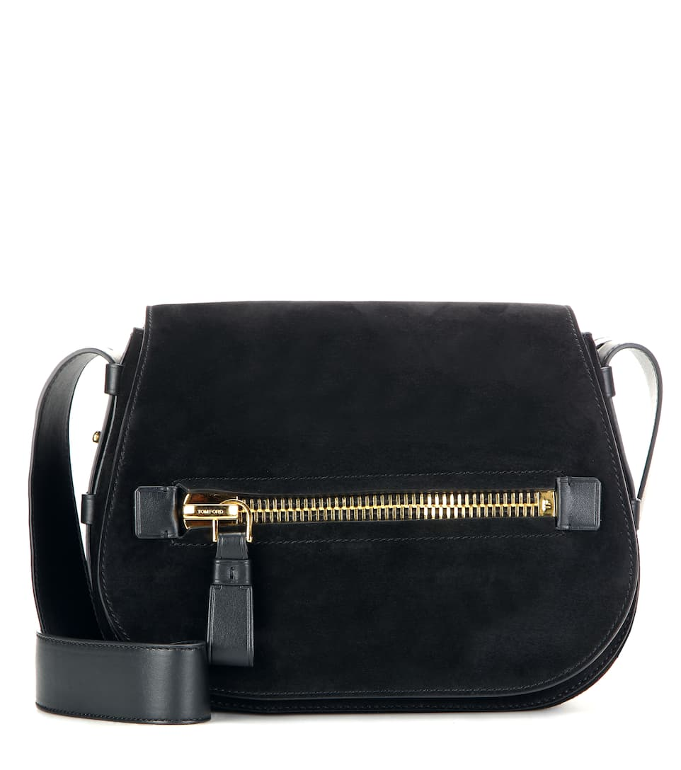 Tom Ford Jennifer Soft suede shoulder bag