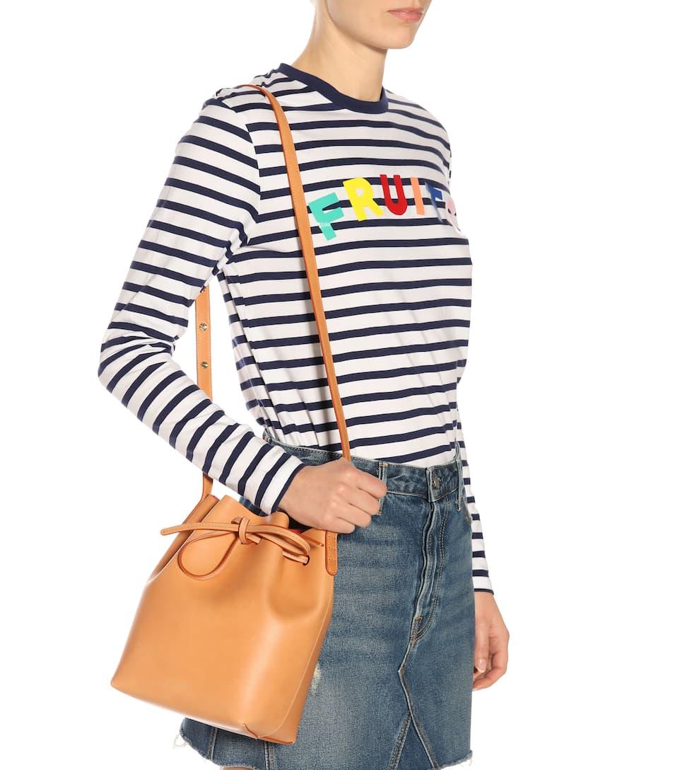 Mansur Gavriel Bucket-Bag Mini aus Leder Freies Verschiffen Die Besten Preise Amazon Online 8CMjjw5w