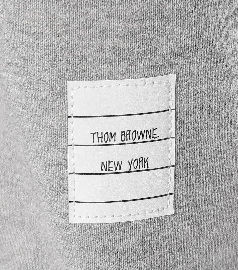 Thom Browne Trackpants aus Baumwolle mit Streifen