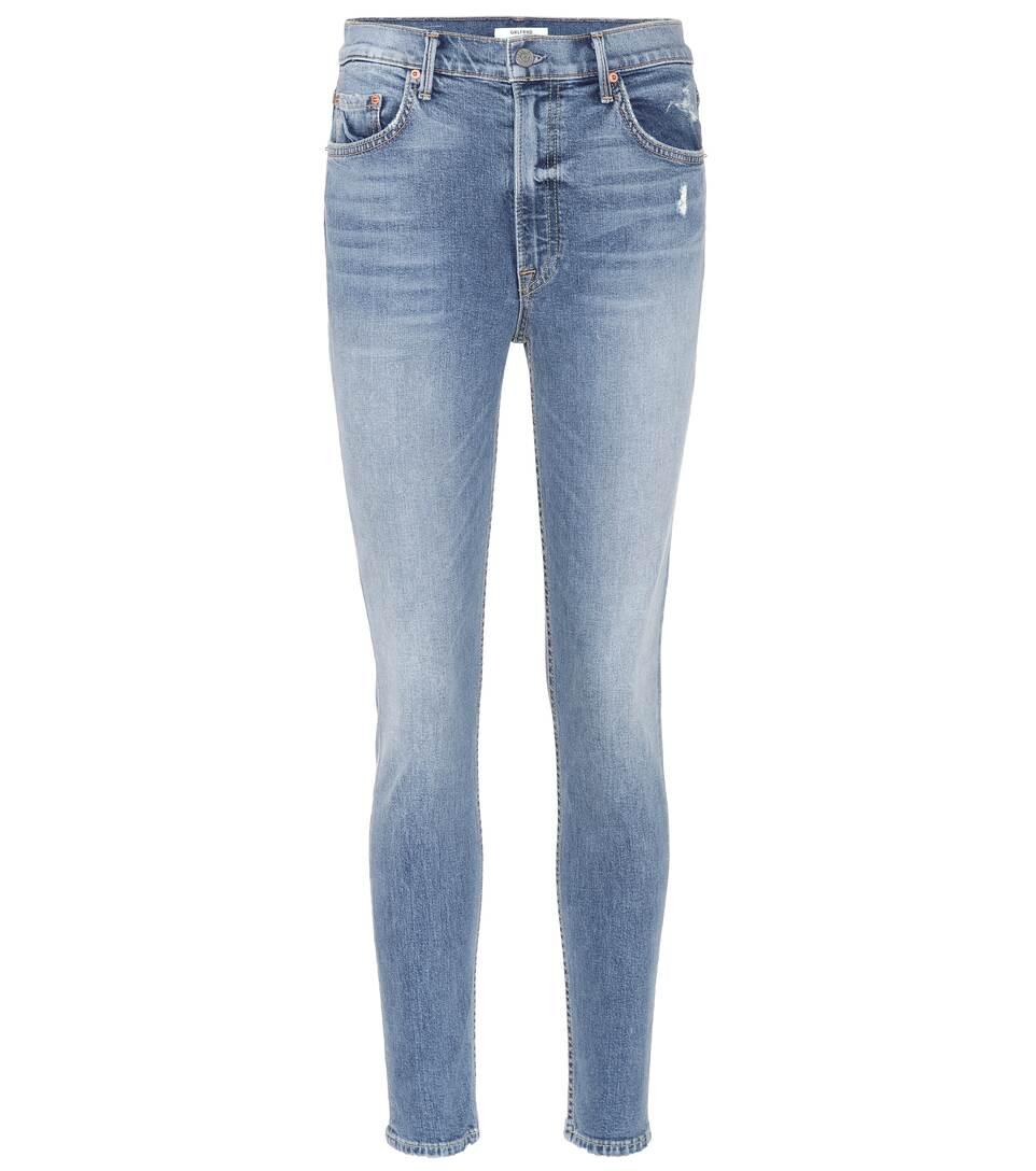 Grlfrnd High-Rise Skinny Jeans Kendall
