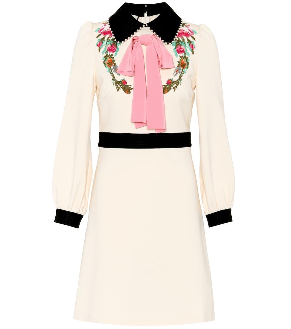 C0PocC6N6l - Robe stretch à ornements
