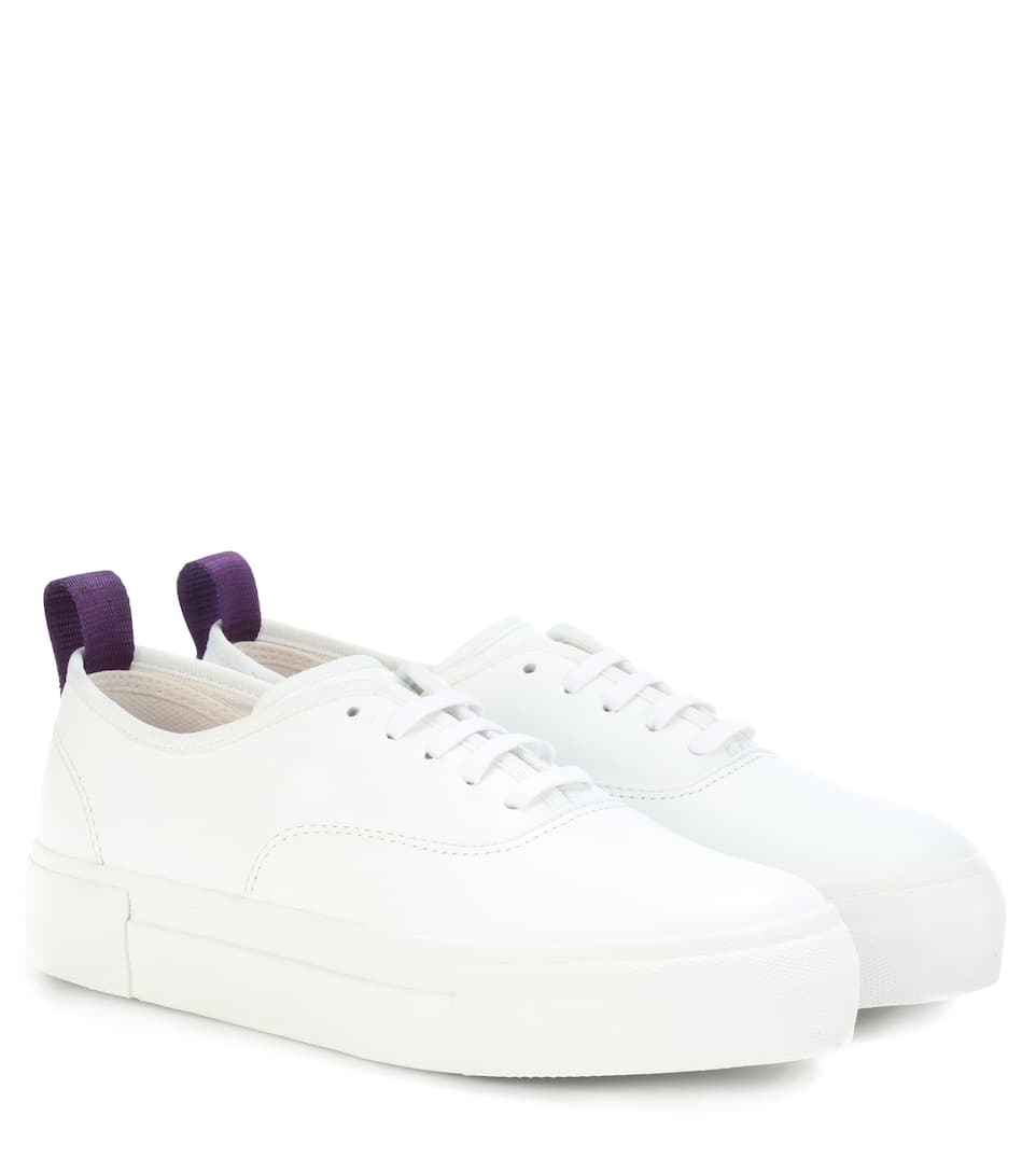 Mother Leather Sneakers by Eytys