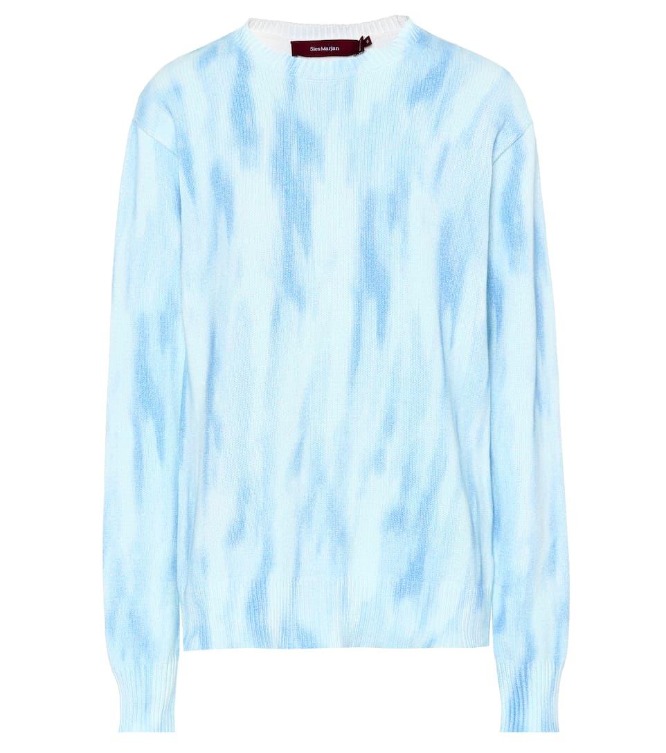 Sies Marjan Gefärbter Oversize-Pullover aus Baumwolle