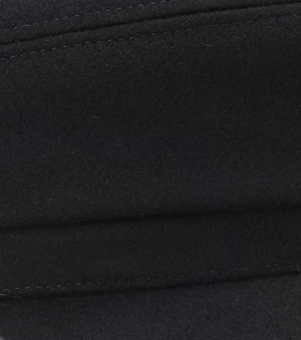 Isabel Marant - Casquette en laine et cachemire mélangés Evie Pas Cher Explorer tbg70F