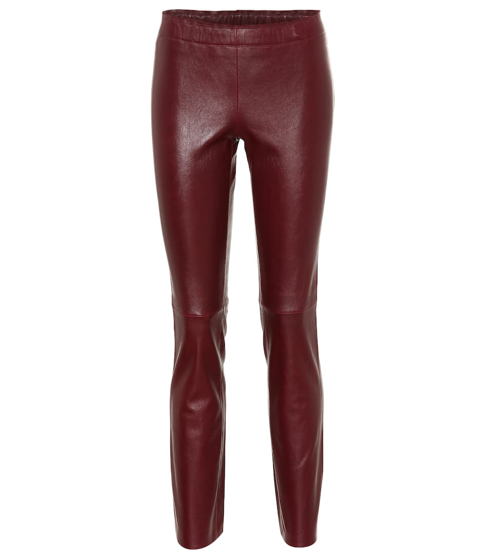 Jacky Leather Leggings by Stouls