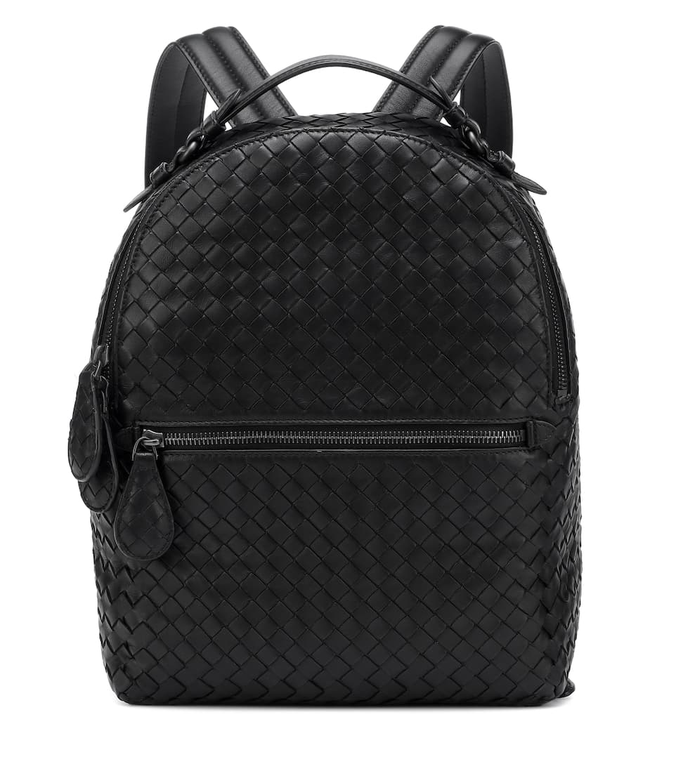 dfdd83313eb9 Intrecciato Leather Backpack - Bottega Veneta
