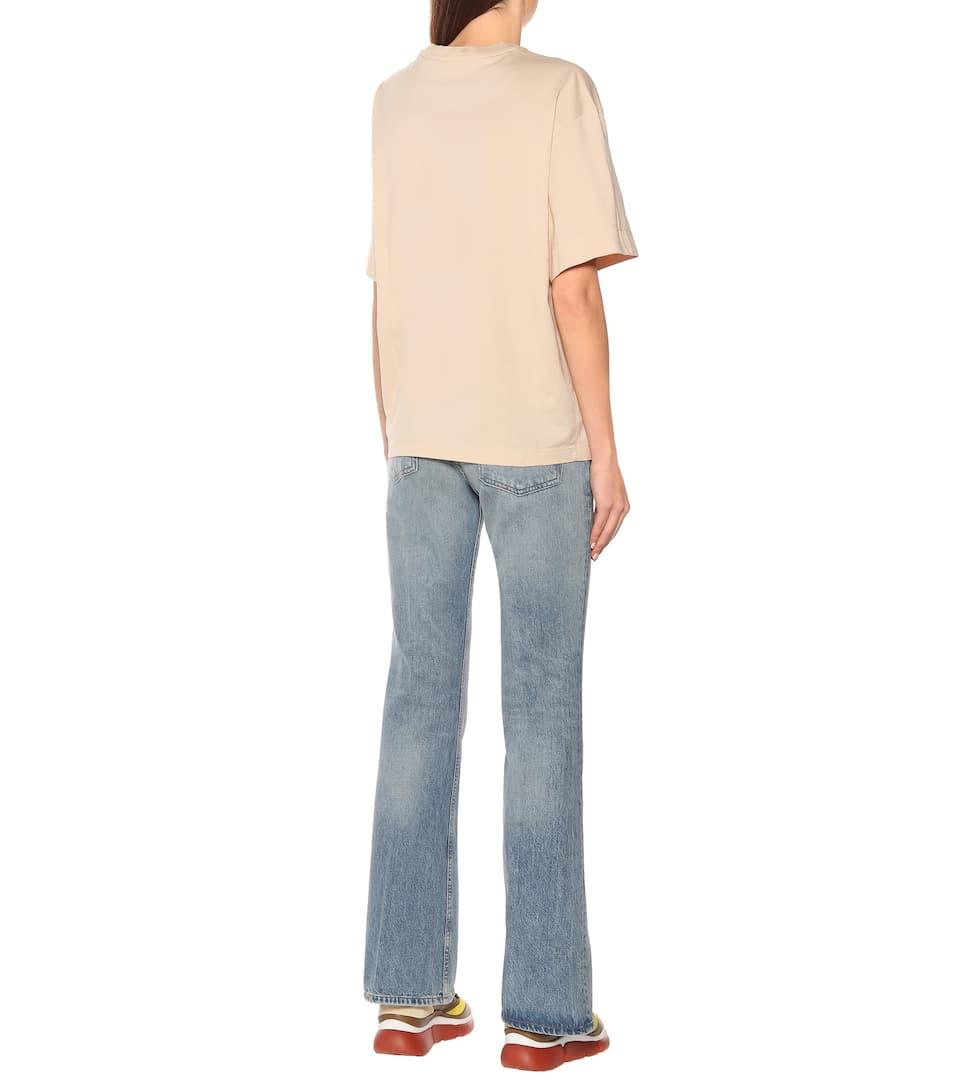 Printed Cotton-Jersey T-Shirt - Chloé