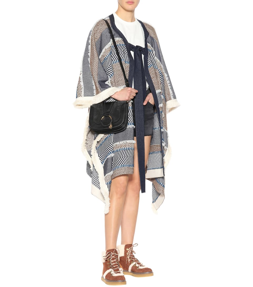 Stivaletti Eileen in pelle con shearling See By Chloé UiJQYqC6PS