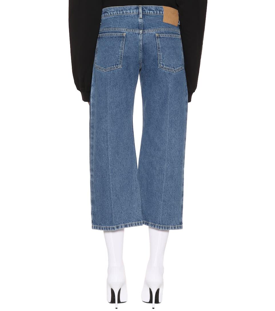 Balenciaga Cropped Jeans Rockabilly
