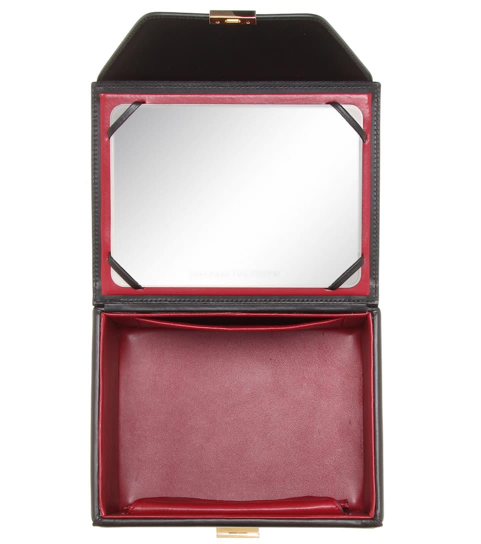 Sac En Cuir Vanity Box - Victoria Beckham Vente À Bas Prix Pas Cher XkYfnstF4r