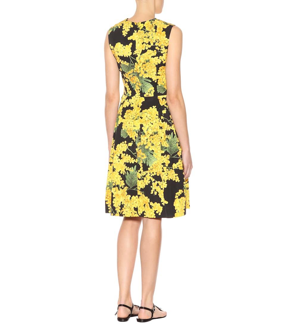 Carolina Herrera Printed Mini Dress With A Cotton-share