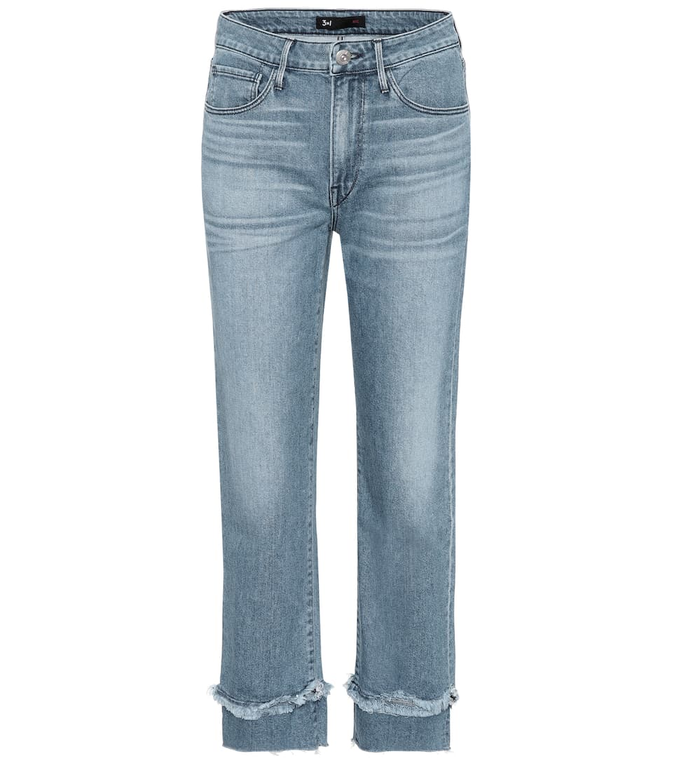 3x1 Jeans W3 Higher Ground Slim Crop