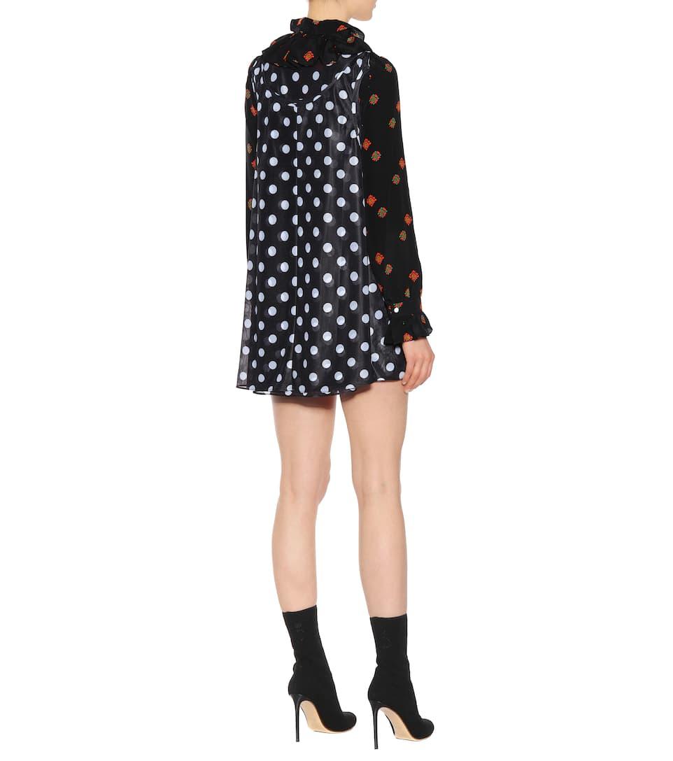 Jw Anderson Mini Dress With Satin Share