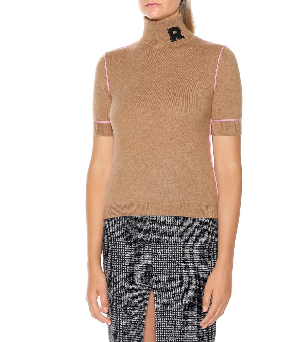 Rochas de cachemira alto CAMEL de cuello camiseta ZqwprZB7