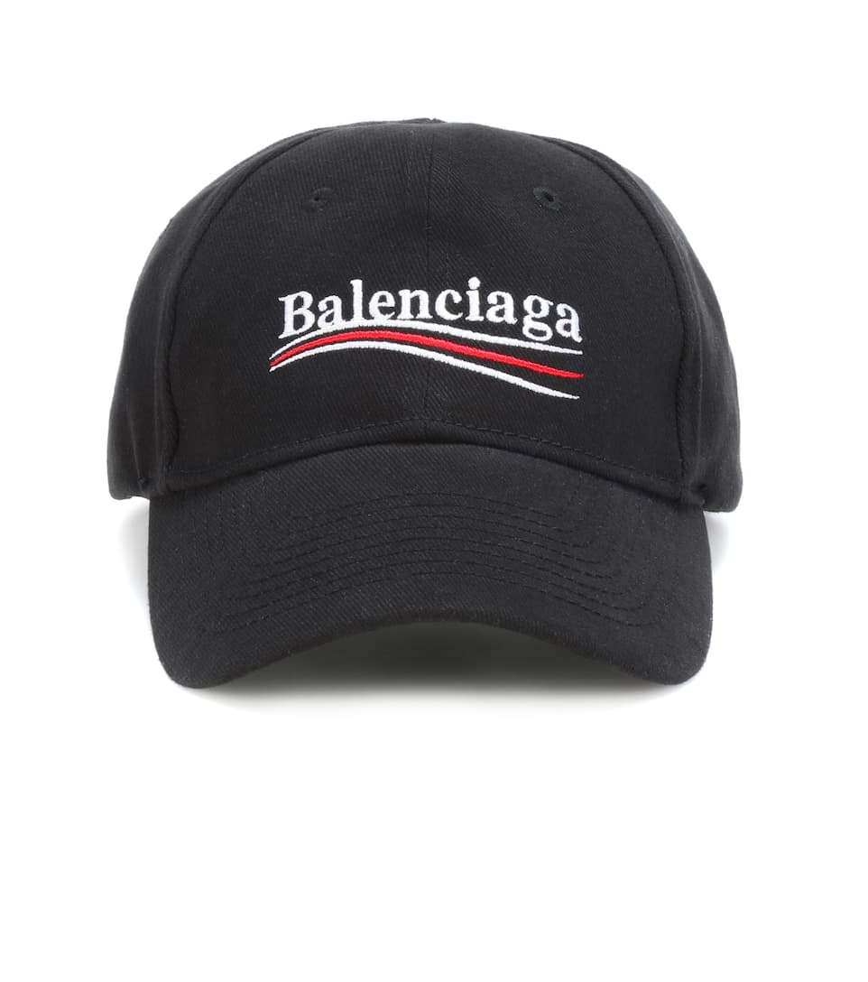 9143b480e2a Embroidered Cotton Baseball Cap - Balenciaga