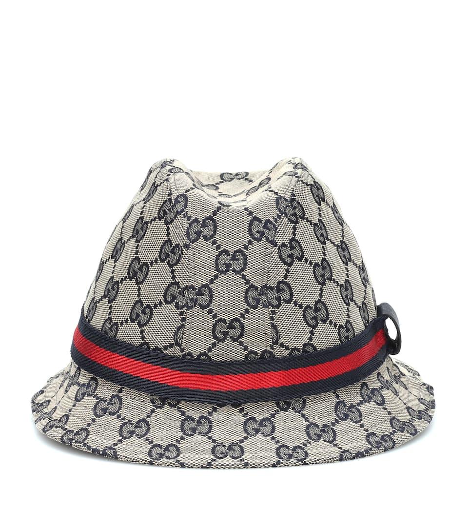 ab868a1c Gucci Kids - Original GG bucket hat   Mytheresa