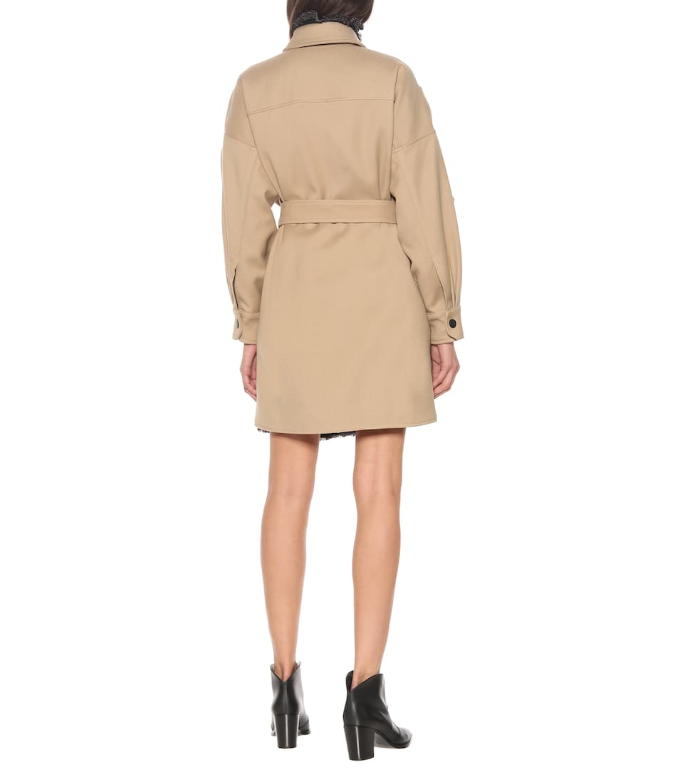See By Chloé - Cotton-blend coat