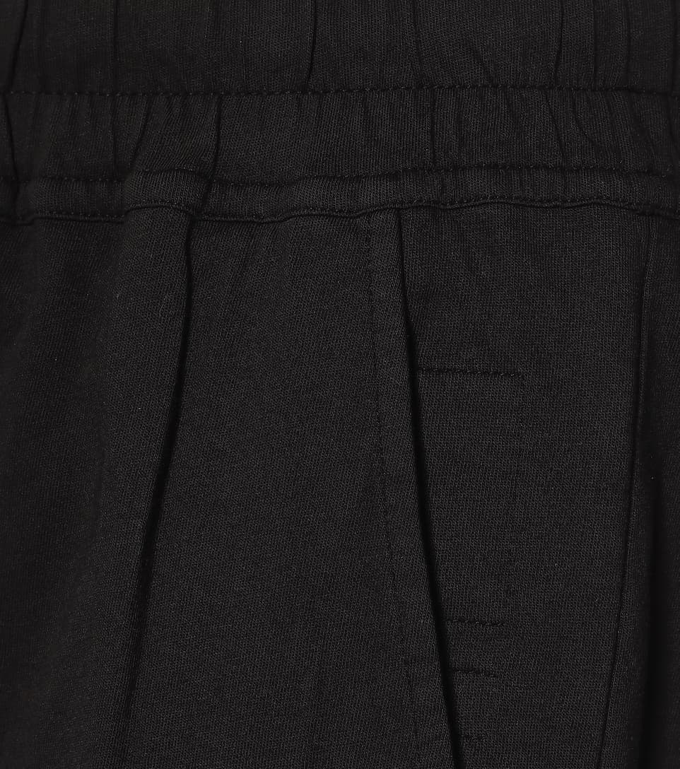 Rick Owens - DRKSHDW cropped cotton trackpants