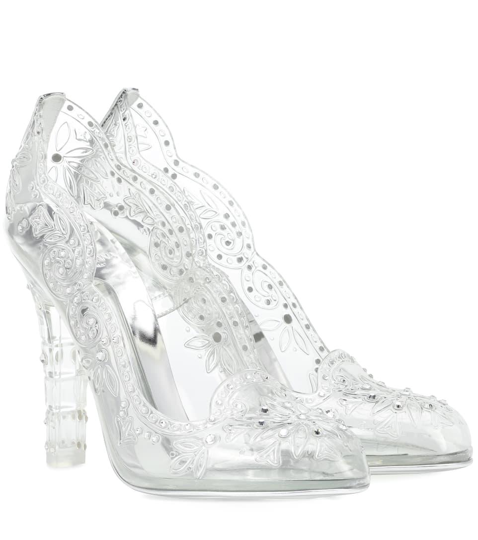 Escarpins Transparents à Ornements Cinderella by Dolce & Gabbana