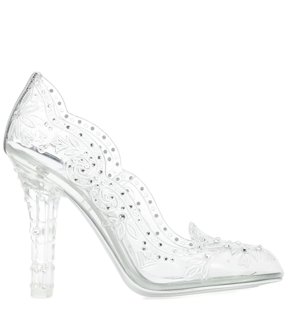 278e46e5bfc3 Cinderella Embellished Transparent Pumps - Dolce   Gabbana