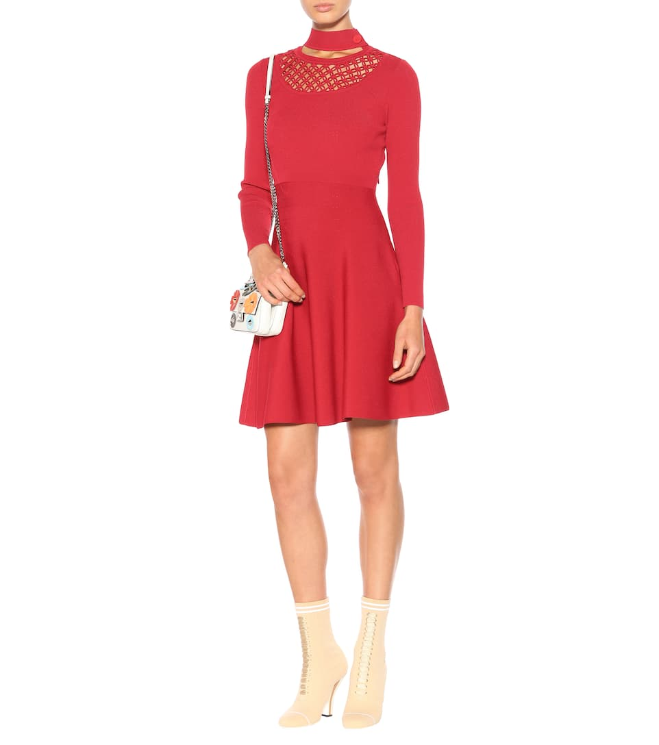 Fendi Kleid aus Stretch-Jersey