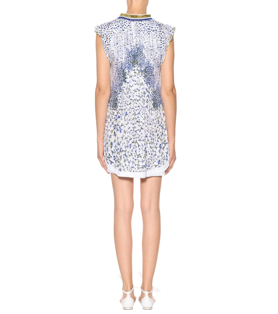 Poupette St Barth Printed Dress Sasha