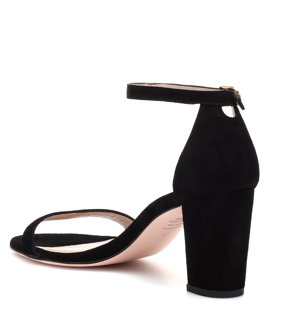 Stuart Weitzman Sandals Nearlynude From Suede