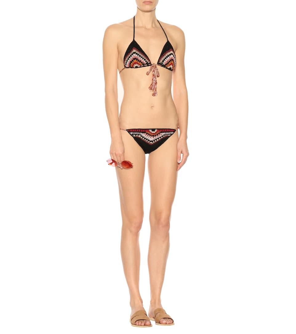 Anna Kosturova Gehäkeltes Bikini-Höschen Souk