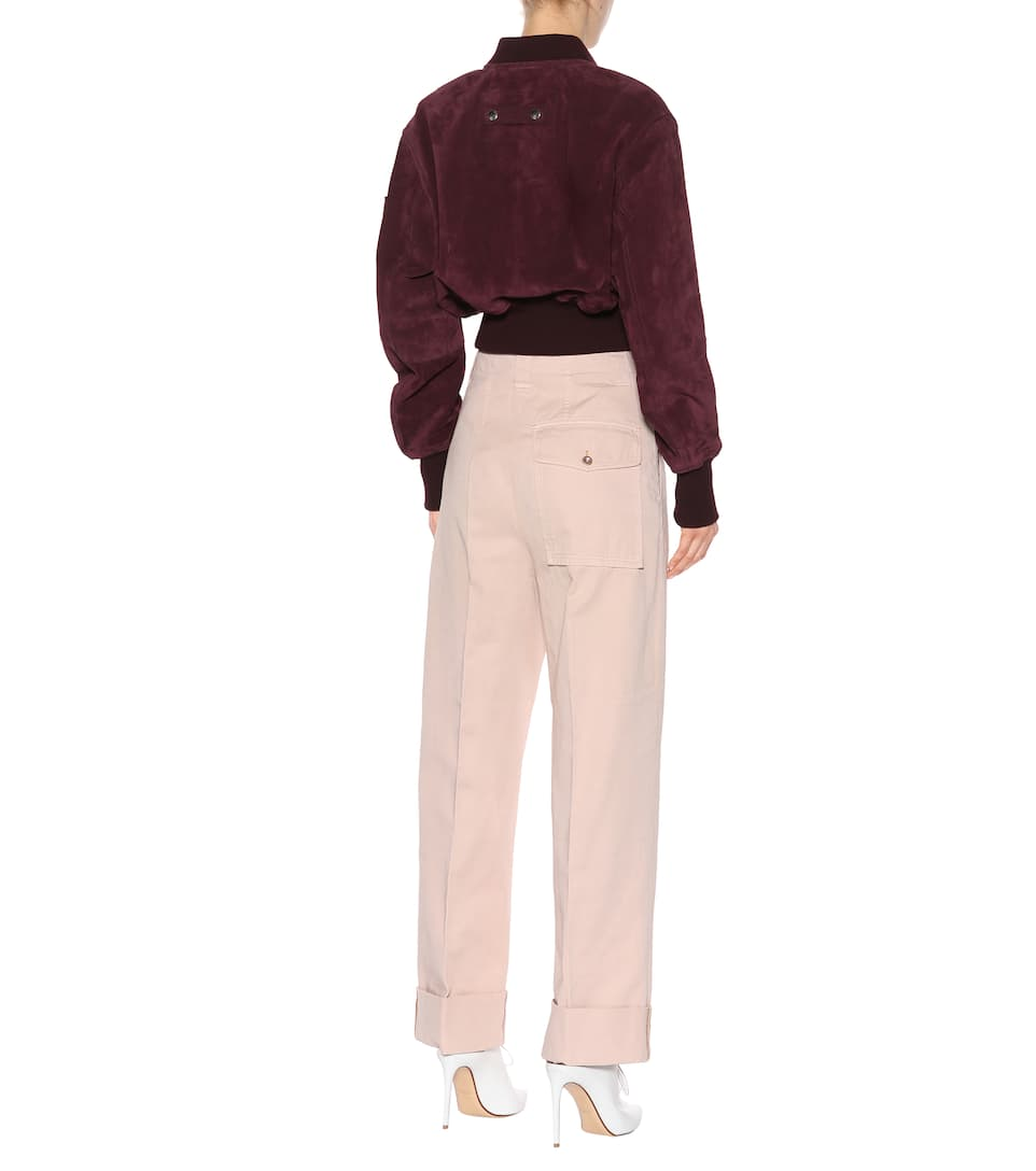 Acne Studios Madya cotton chino pants Powder Pink Recommend Cheap Price Cheap Low Price Fee Shipping Outlet Shop Offer Sale Excellent Outlet 100% Original b8pMOSHyiV