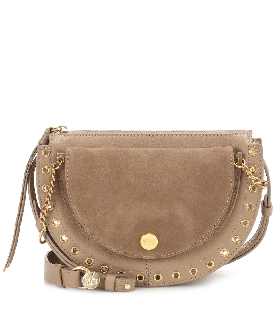 See By Chloé Sac Bandoulière Kriss Medium En Cuir