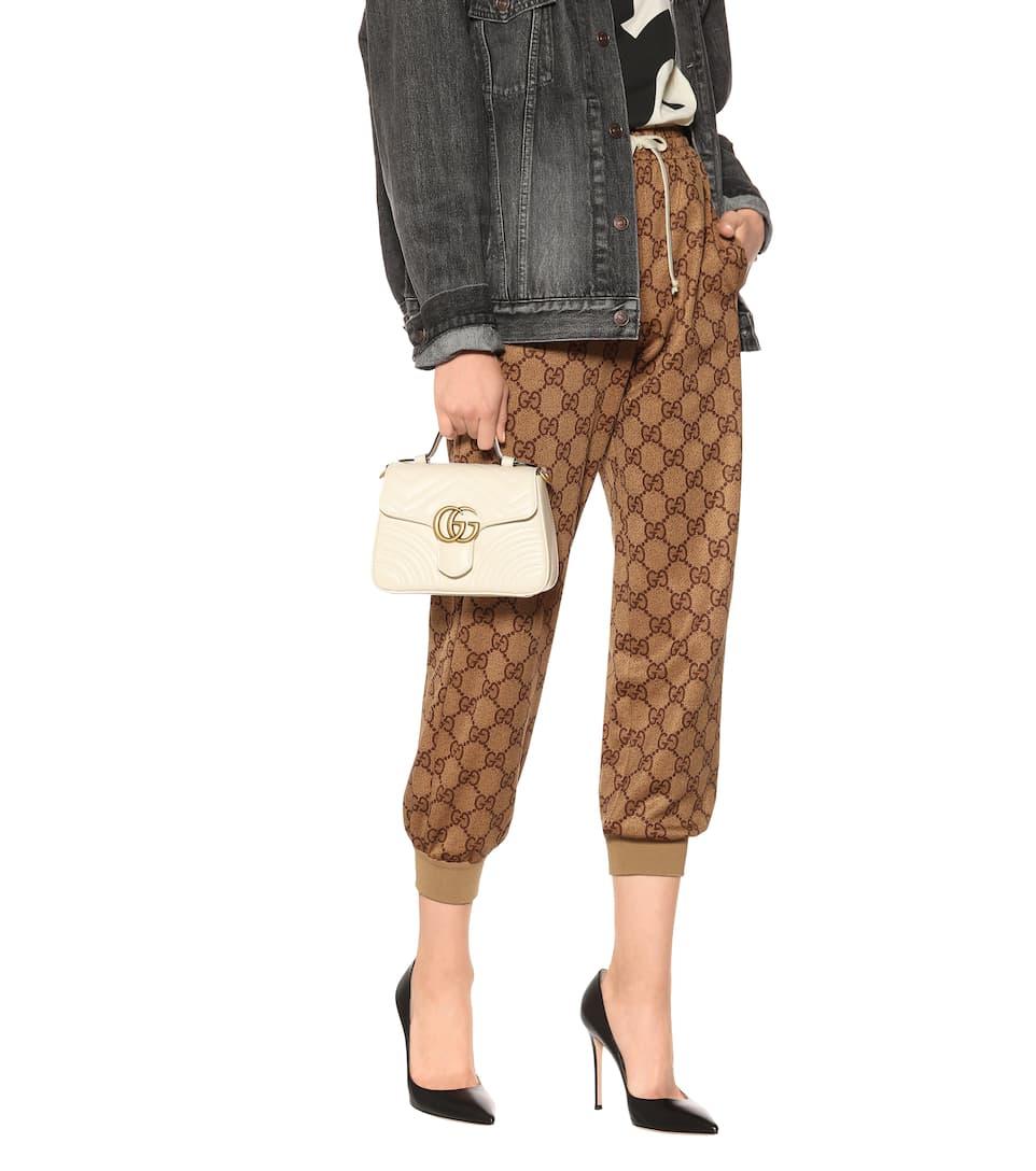 8999b51ac6f Gg Marmont Mini Leather Shoulder Bag - Gucci