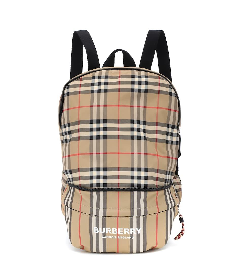 ee65aa7c3 Check Nylon Backpack | Burberry Kids - Mytheresa