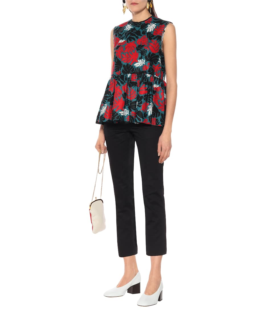 Marni - Cotton and linen top