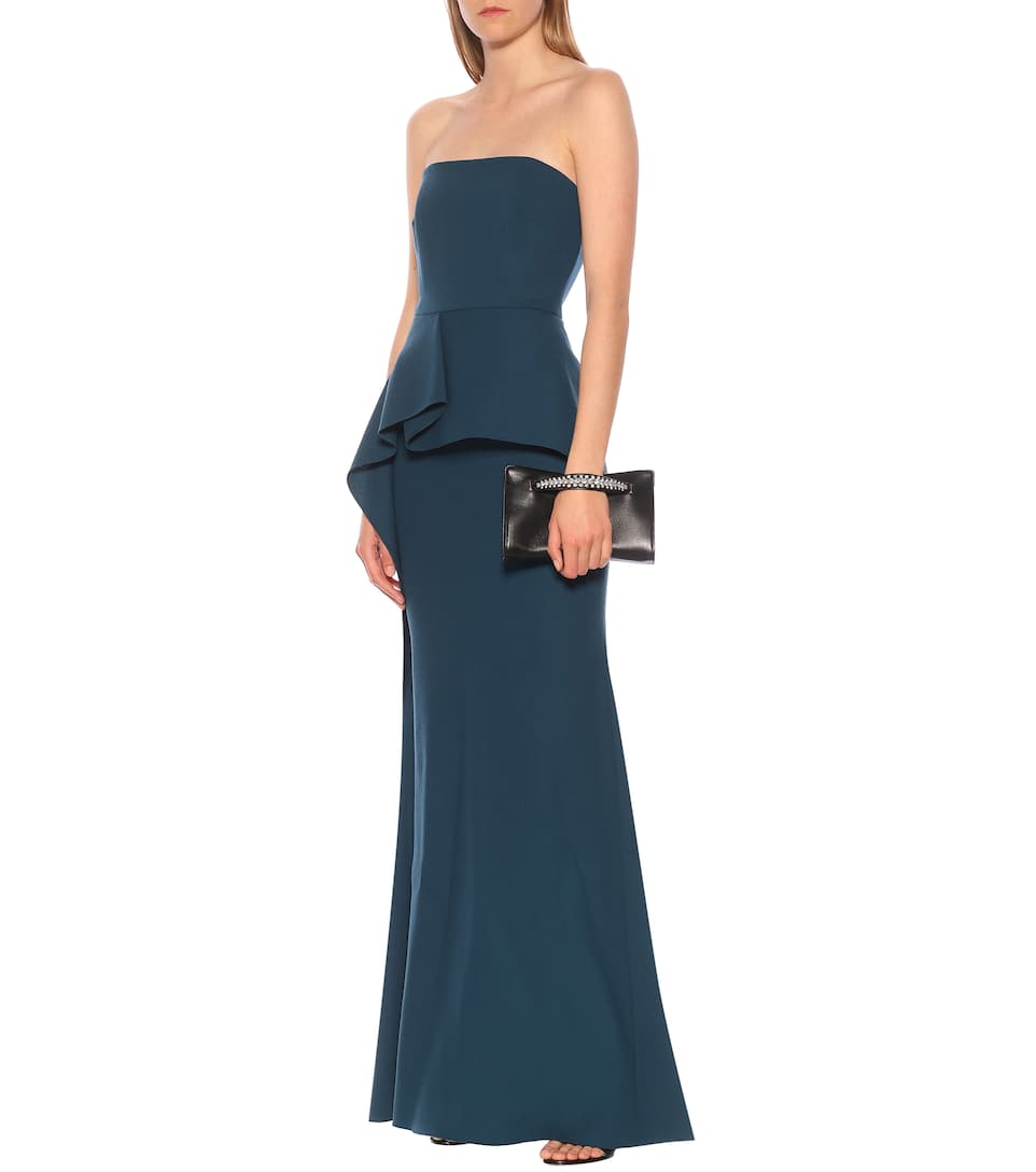 Roland Mouret - Exclusive to Mytheresa – Adrienne wool-crêpe gown