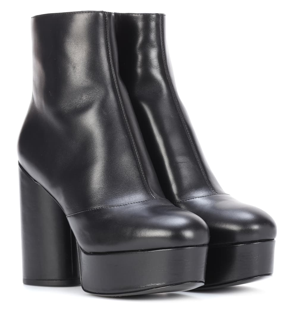 Marc Jacobs Leather Ankle Boots Clearance Pay With Paypal Discount Low Shipping Clearance For Cheap Very Cheap Sale Online Great Deals hAAldE