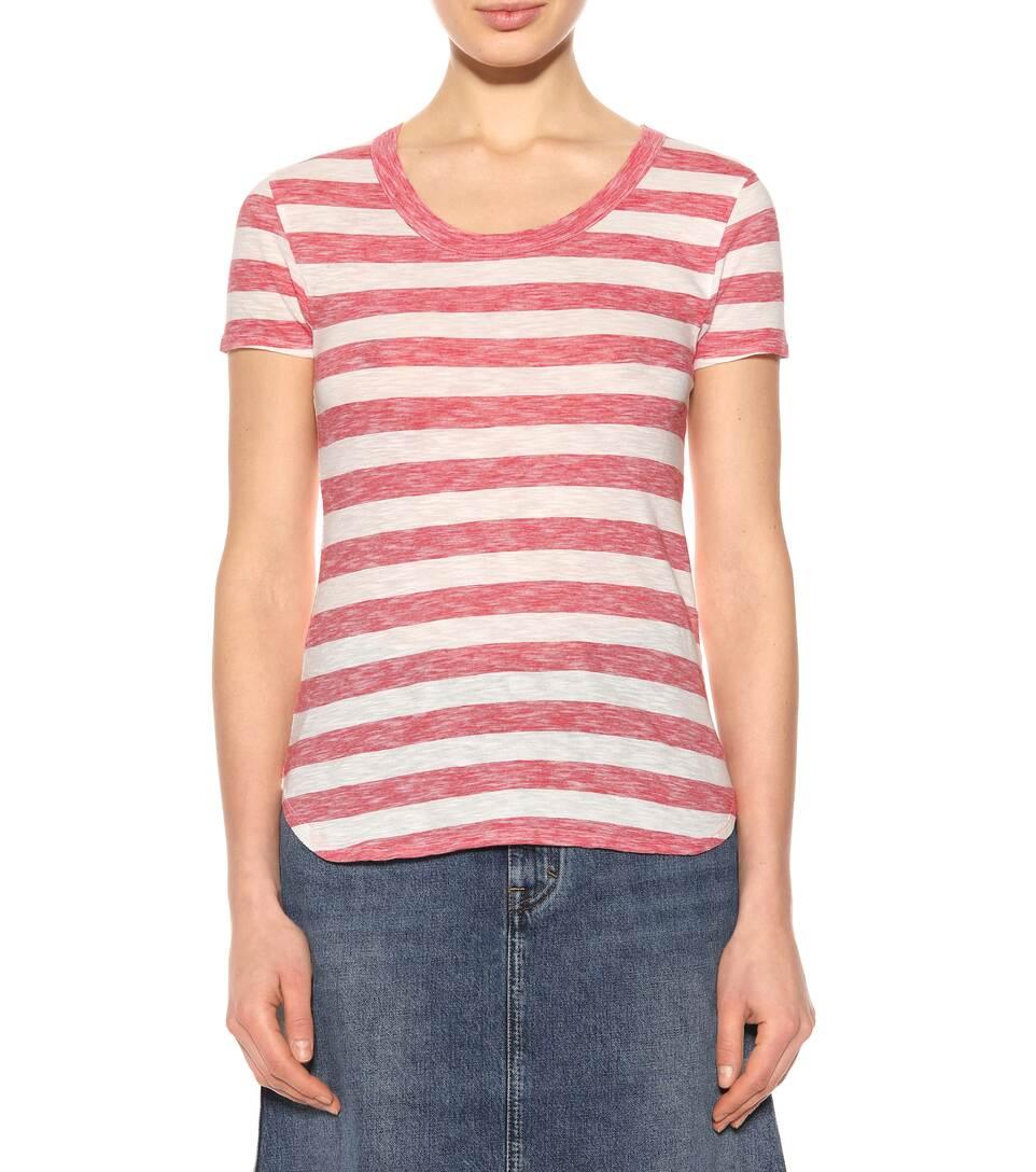 81hours Gestreiftes T-Shirt Gia aus Baumwolle